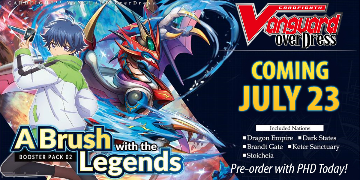 Cardfight!! Vanguard overDress: A Brush with the Legends — Bushiroad