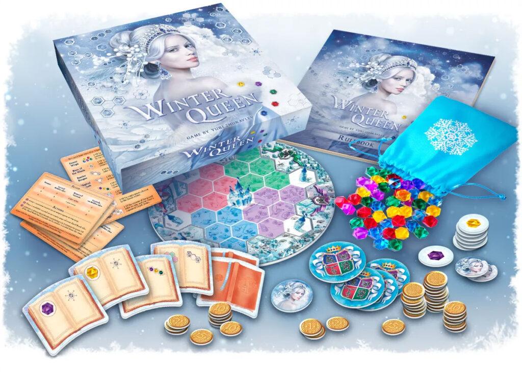 Winter Queen components