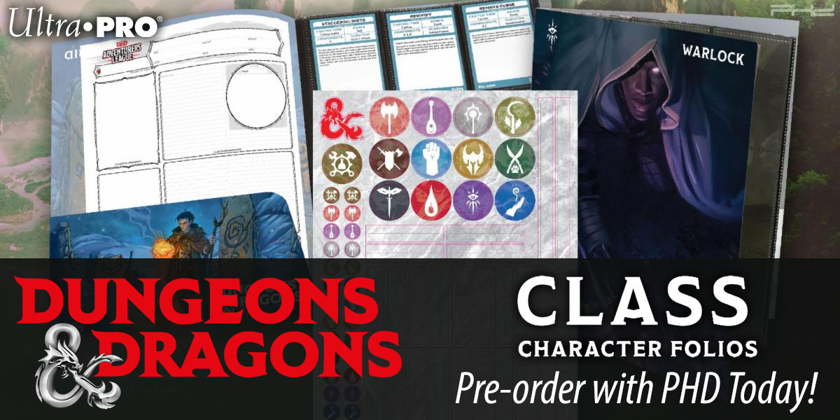 Dungeons & Dragons Class Character Folios — Ultra•PRO