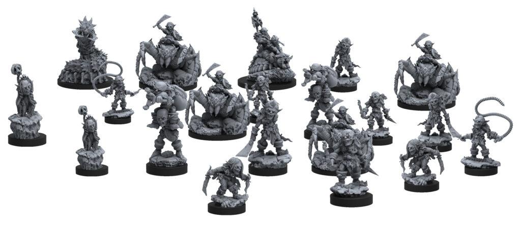 Epic Encounters: Labyrinth of the Goblin Tsar miniatures