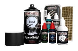 GAMEMASTER Terrain Kit: Snow Tundra contents