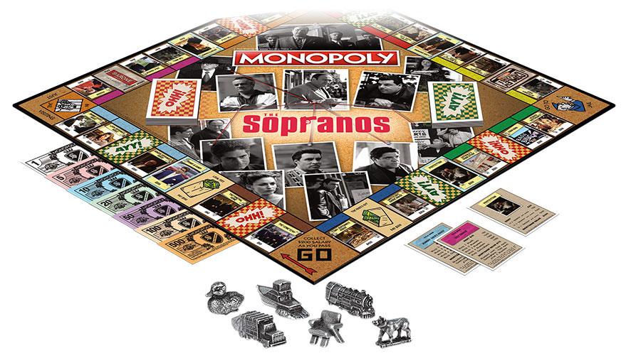 Monopoly: The Sopranos setup