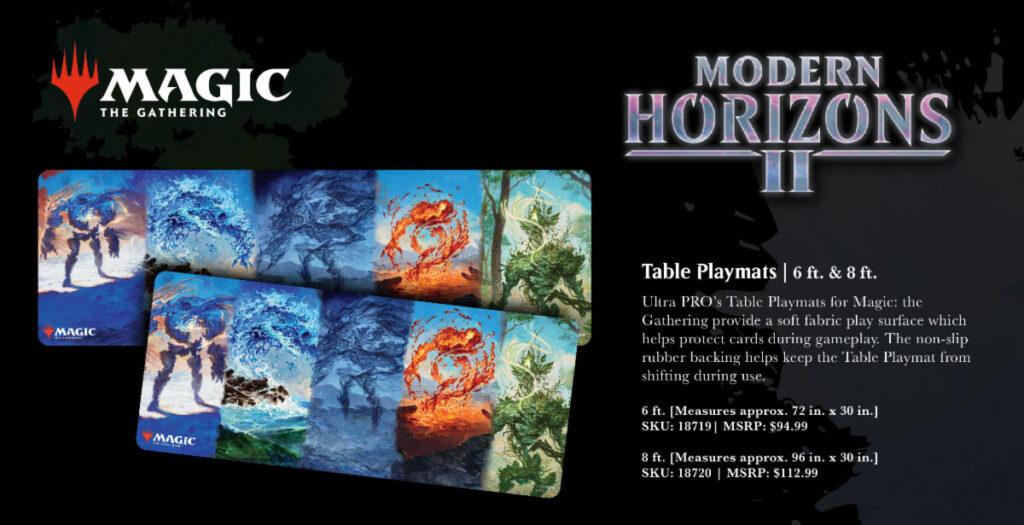 Modern Horizons 2 table mats