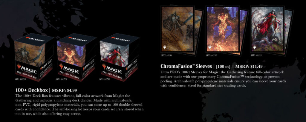 Modern Horizons 2 deck boxes & protectors