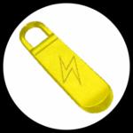 Electric Energy zip pull tab