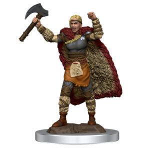 WZK93052 • Female Human Barbarian