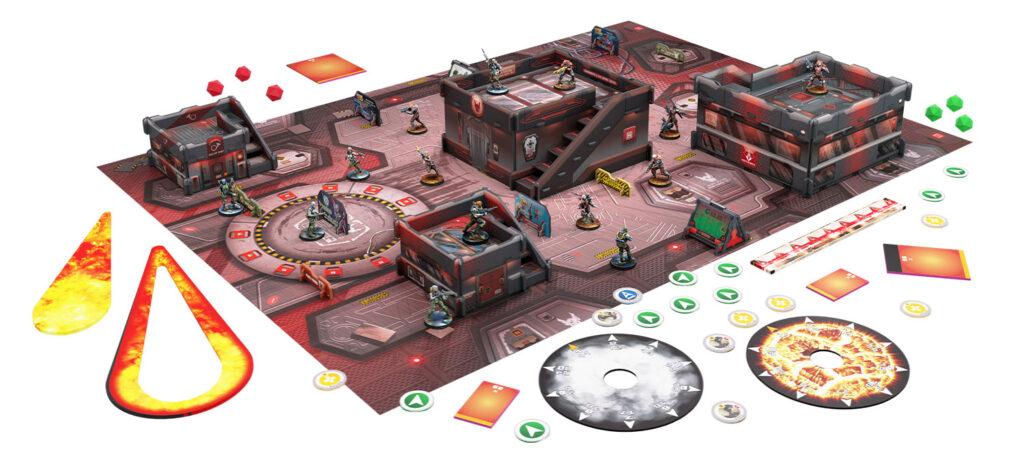 Operation Crimson Stone setup