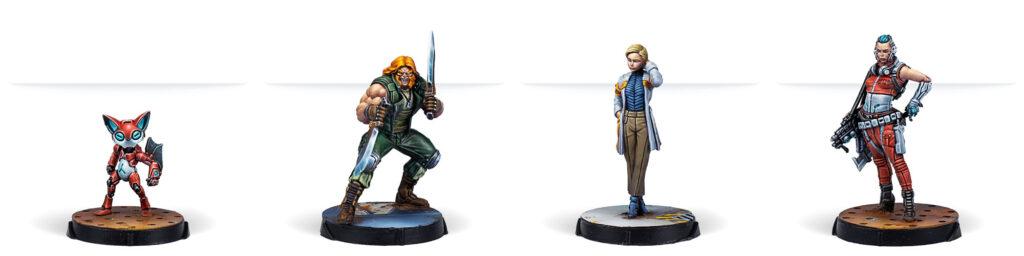 Xanadu Rush miniatures