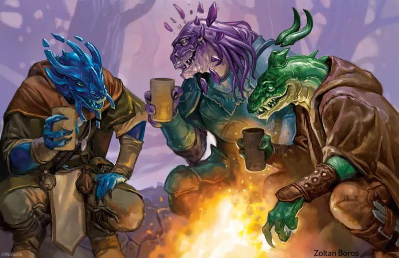 Fizban's art 1: Dragonborn