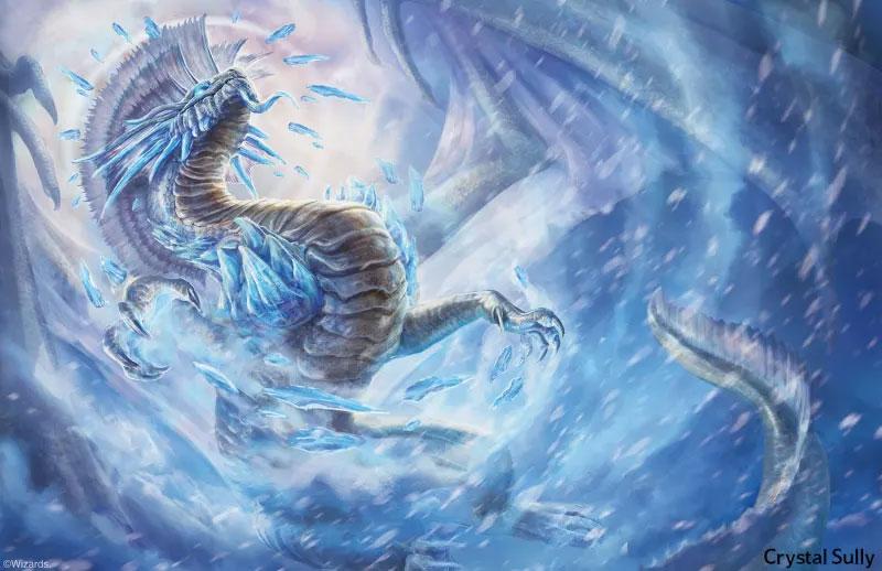 Fizban's art 2: blue dragon