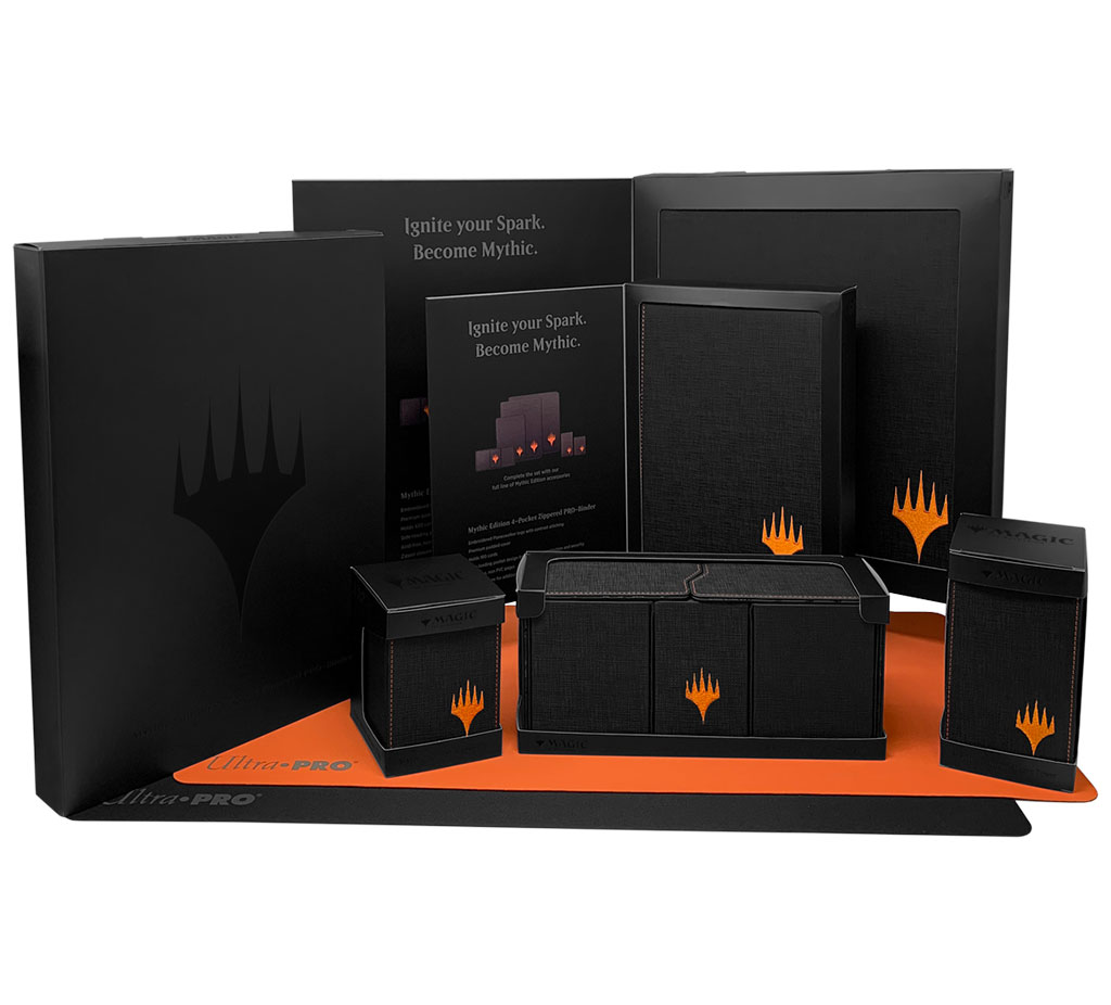 Mythic Edition supplies packaging