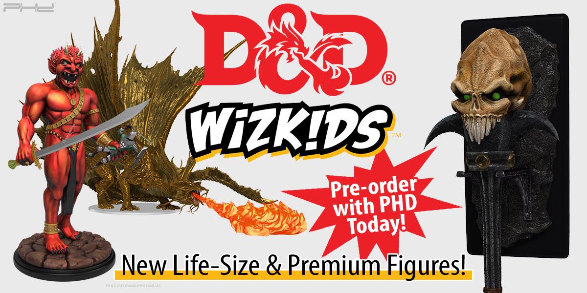 Dungeons & Dragons Q4 Foam & Premium Figures — WizKids
