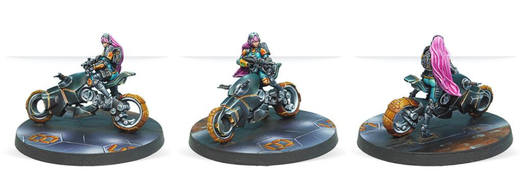 Motorized Bounty Hunters