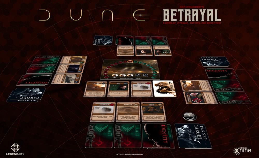 Dune: Betrayal setup