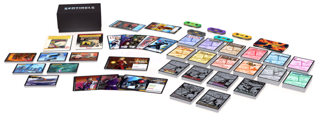 Sentinels of the Multiverse: Definitive Edition components