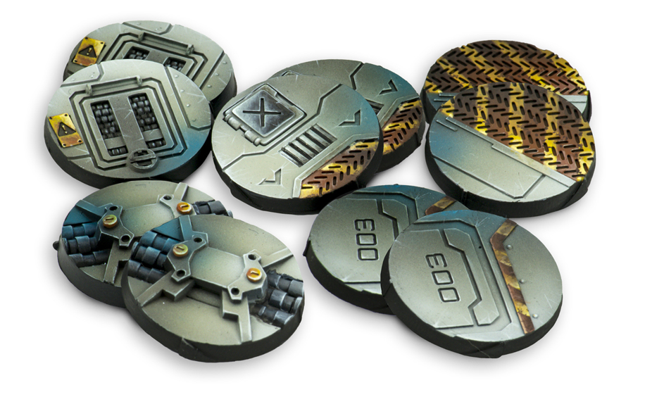 25mm Scenery Bases, Alpha Series