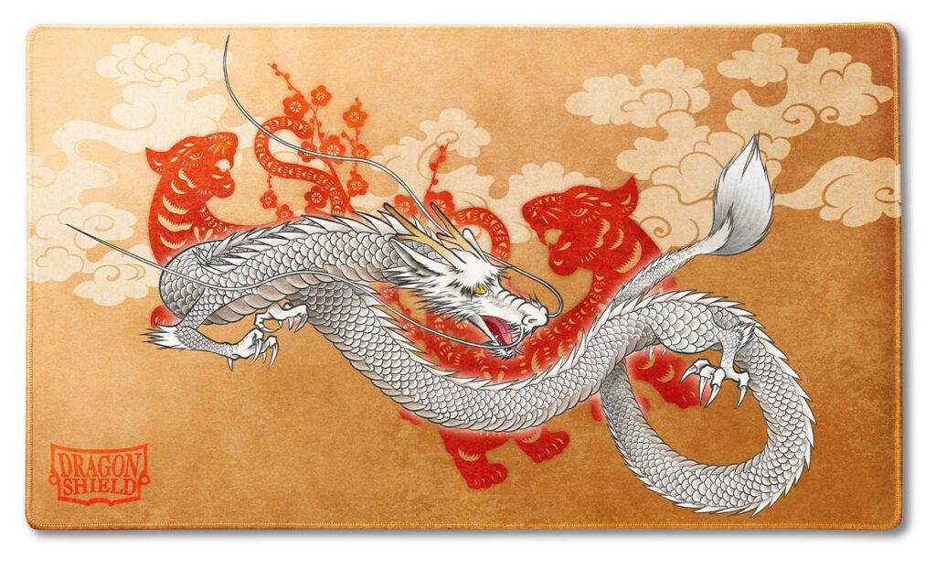 Dragon Shield Sleeves: Water Dragon Playmat