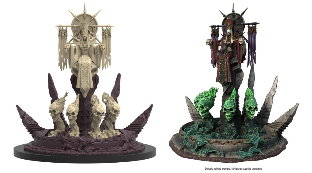 Epic Encounters: Tower of the Lich Empress miniature
