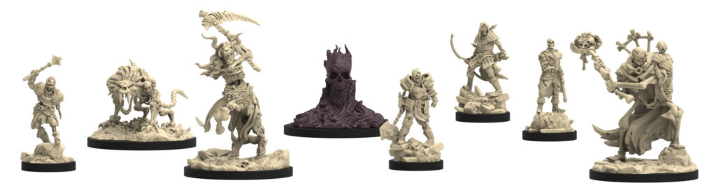 Epic Encounters: Arena of the Undead Horde minis