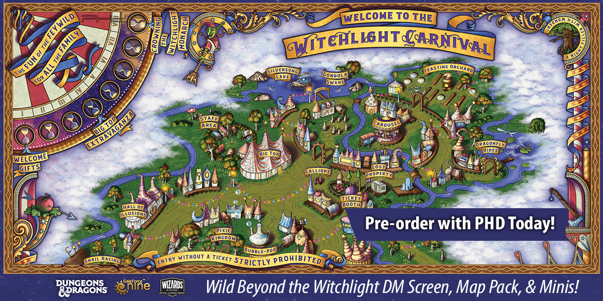 D&D The Wild Beyond the Witchlight Accessories & Minis — Gale Force Nine
