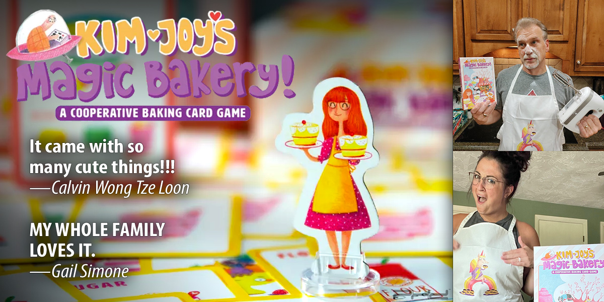 Check Out the Fun Kim Joy's Magic Bakery Has Been Cooking Up!