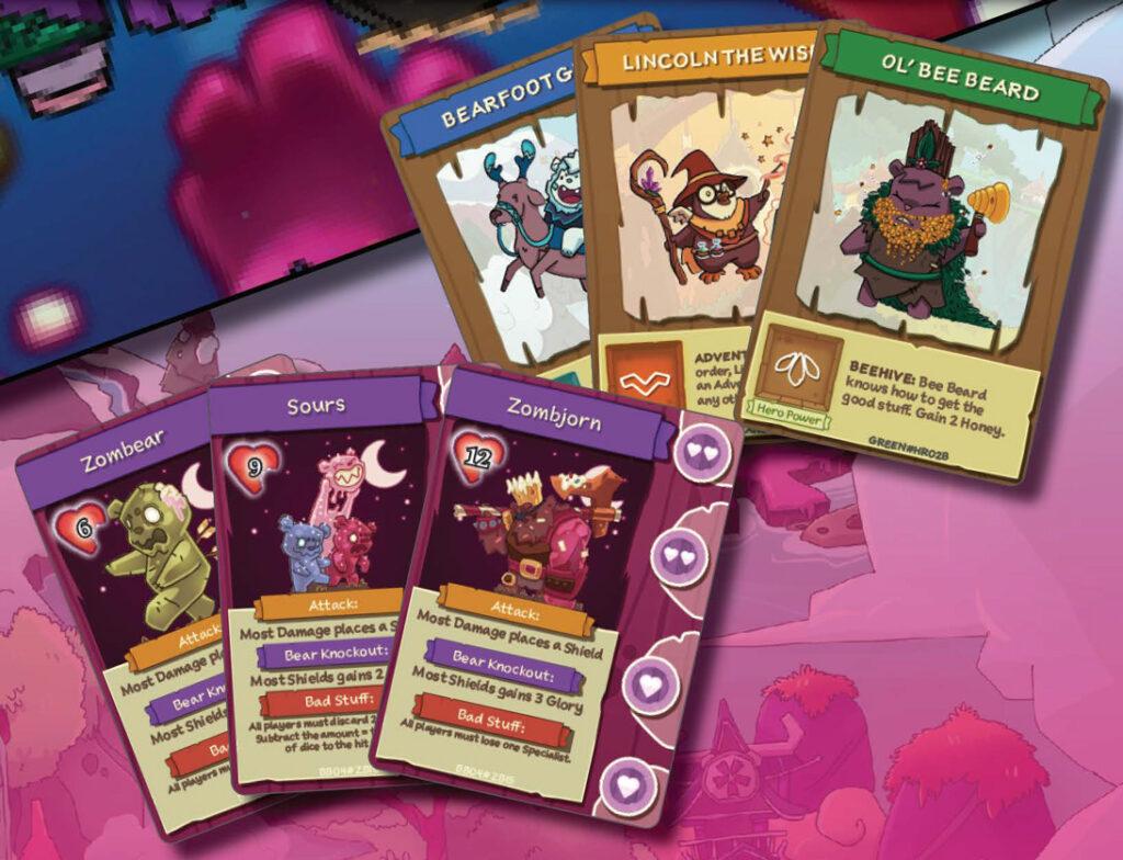 BarBEARian Battlegrounds: Candy Horde cards