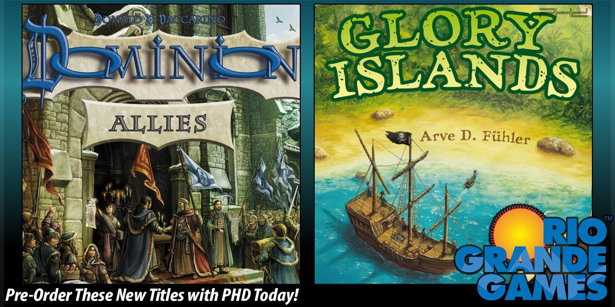 Dominion: Allies & Glory Islands — Rio Grande Games