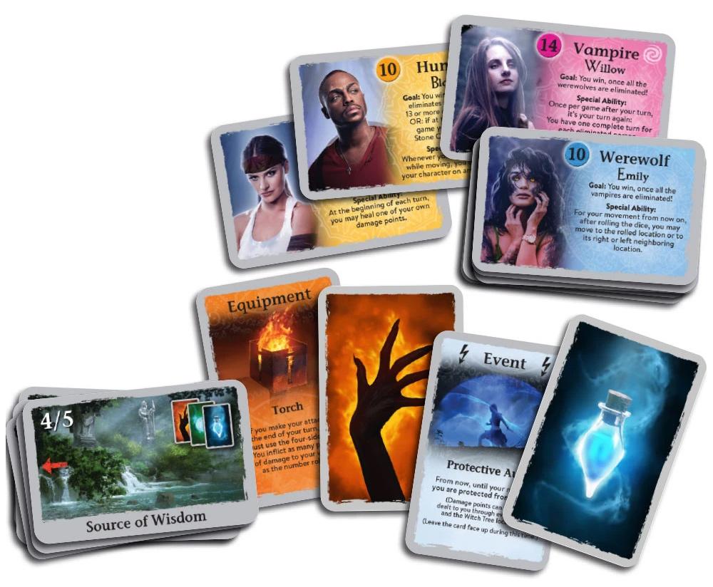 Fangs cards sample
