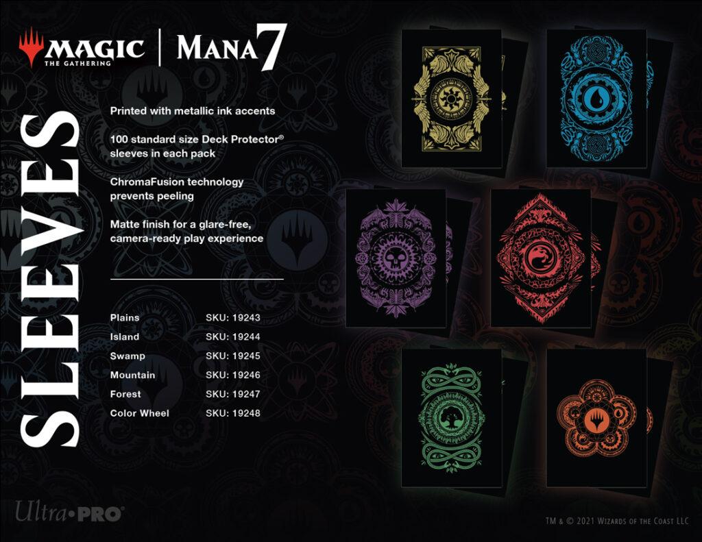 MTG Mana 7 Sleeves