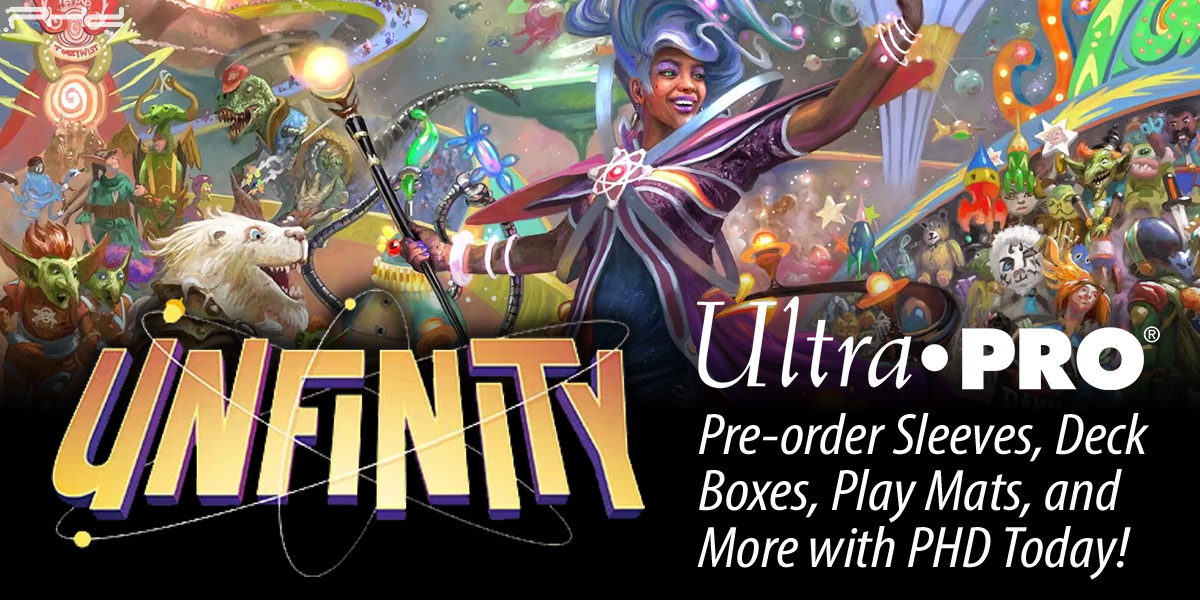 Magic: The Gathering Unfinity Accessories — Ultra•PRO