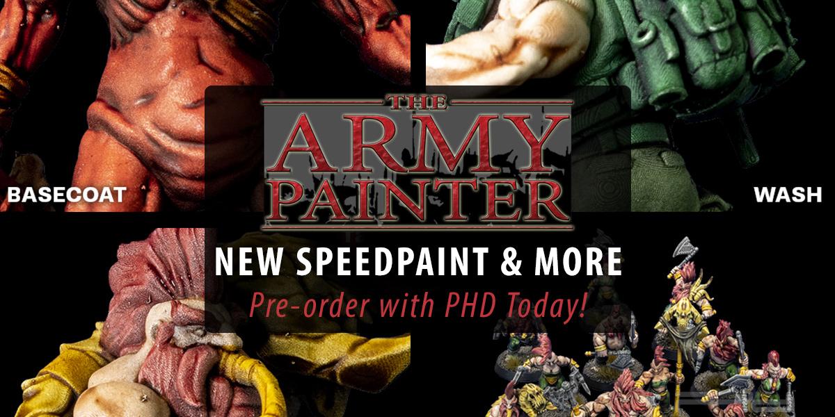 Speedpaint Starter Set & Airpaints Air Rack — The Army Painter
