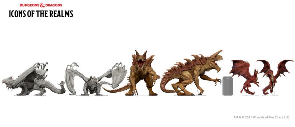 The Tarrasque size comparison