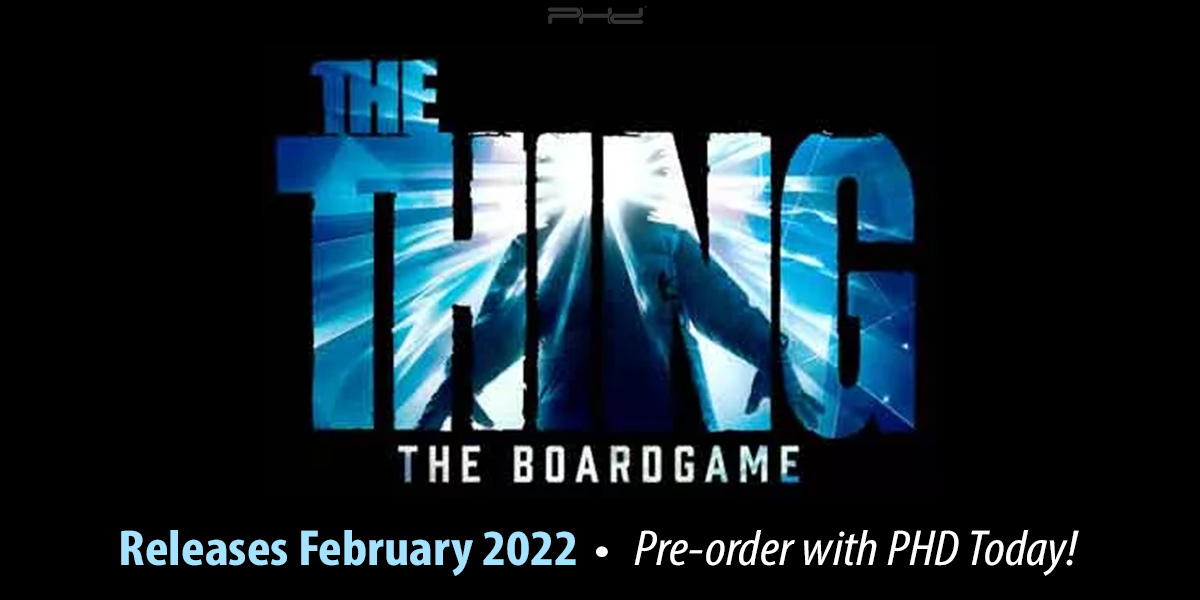 The Thing: The Board Game — Ares Games