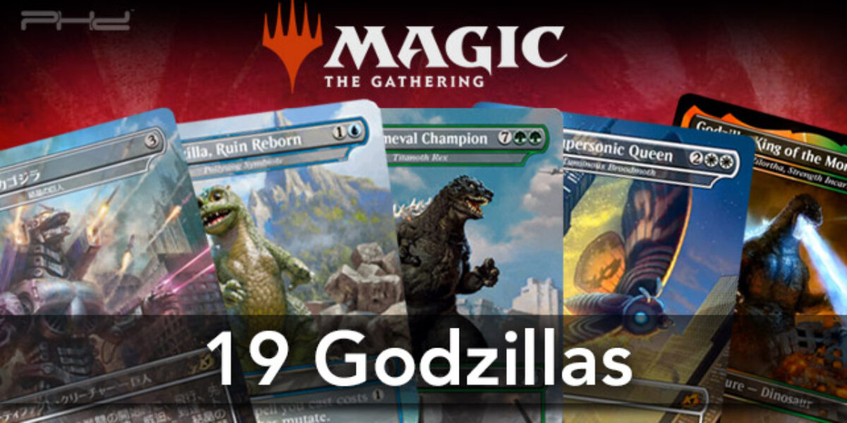 MTG: Ikoria Lair of Behemoths – 19 Godzillas