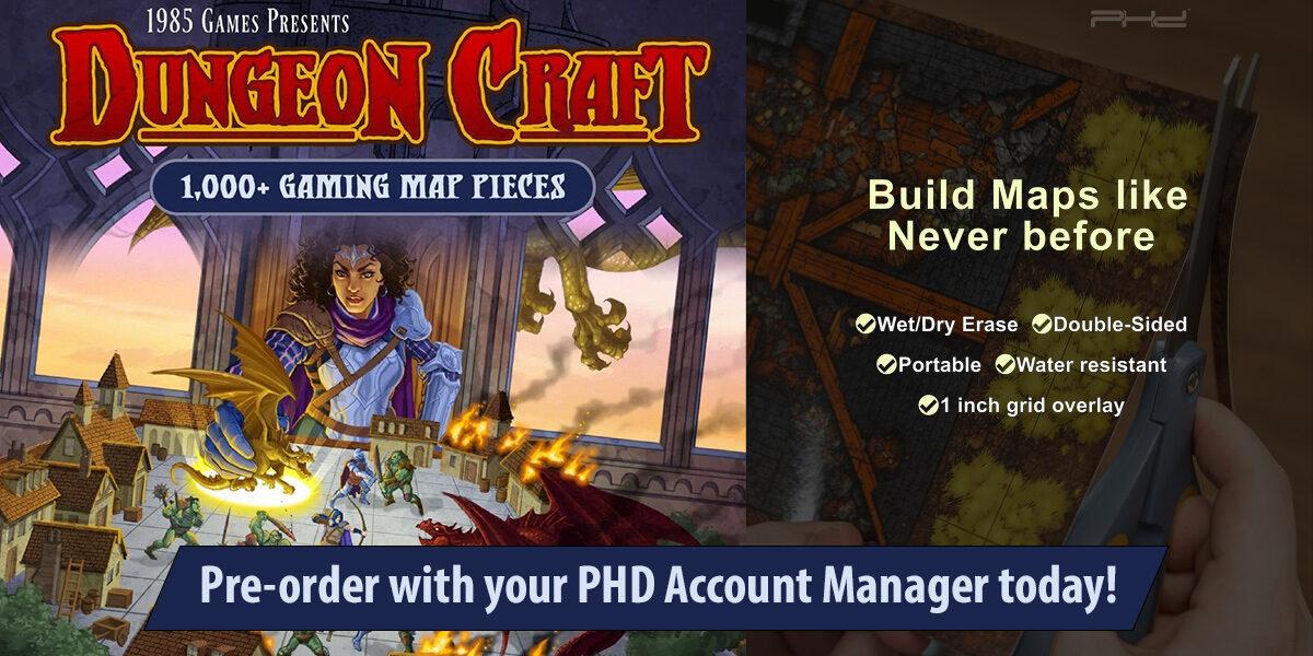 Dungeon Craft & Decks of Stories — 1985 Games