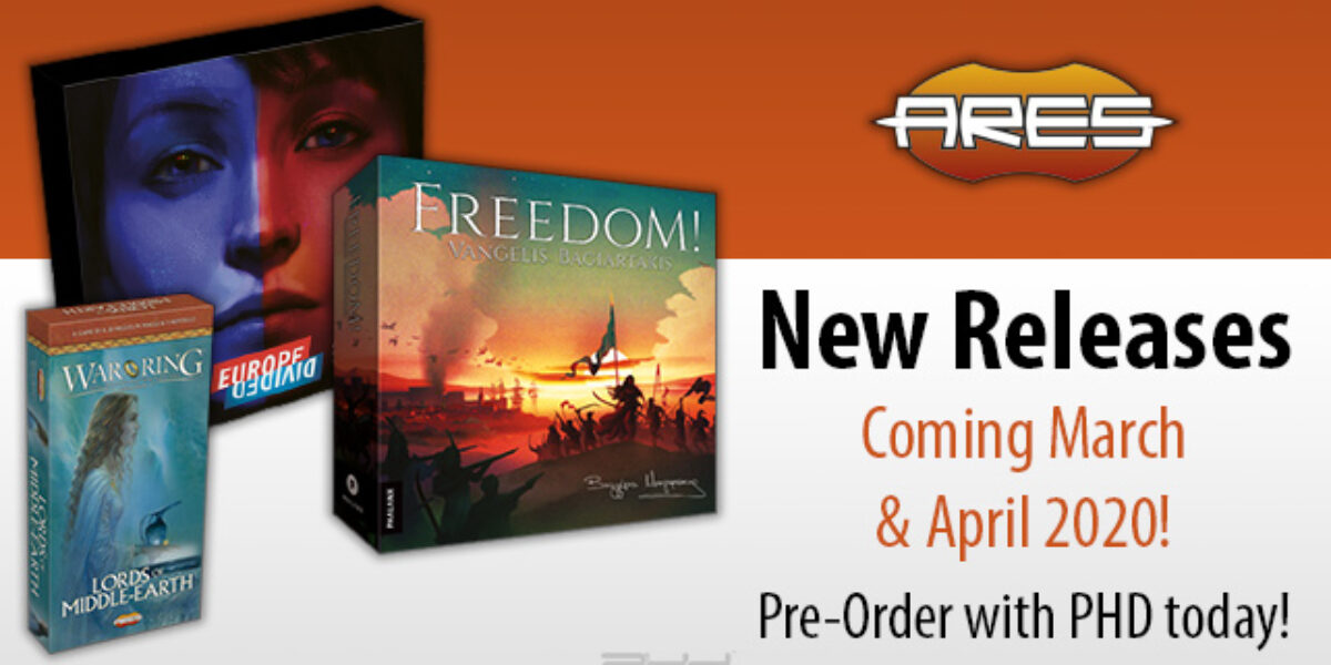 Freedom, Europe Divided, and More — Ares Games
