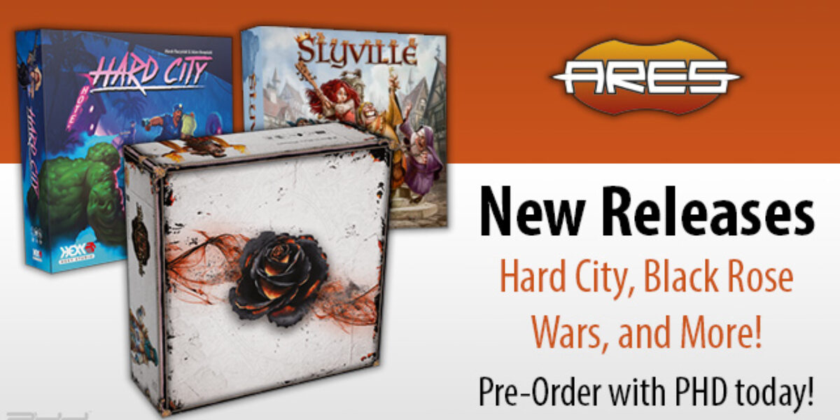Ares Games Upcoming Releases