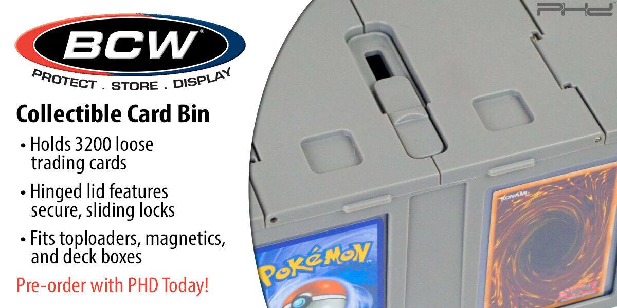 3,200-Count Card Bins — BCW Supplies