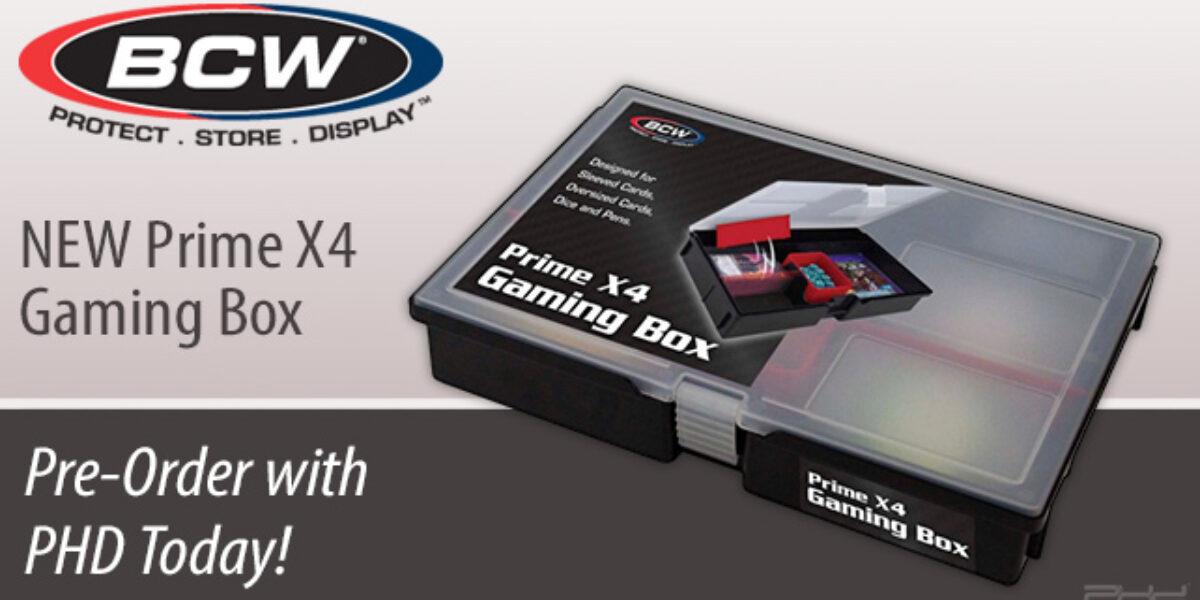 Prime X4 Gaming Box — BCW Supplies