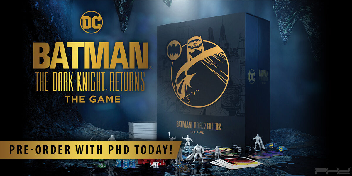 Batman: The Dark Knight Returns — Cryptozoic