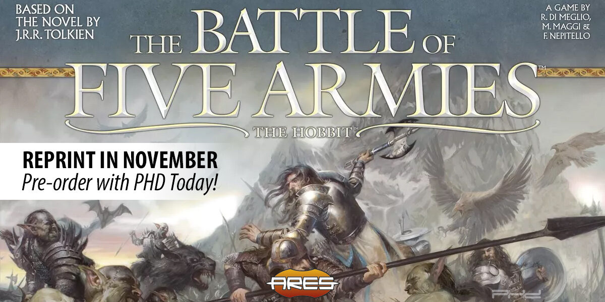 The Battle of the Five Armies — Ares Games