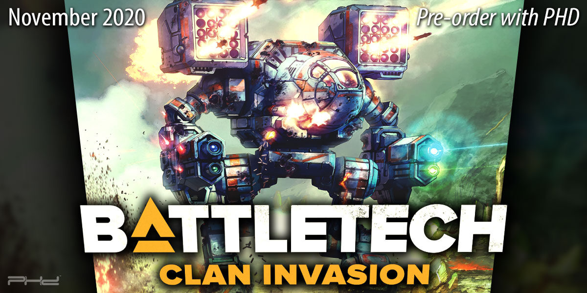 BattleTech: Clan Invasion — Catalyst Game Labs