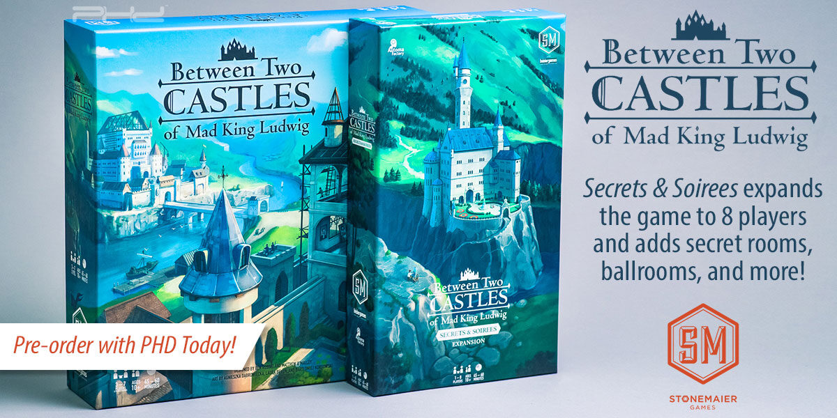 Between Two Castles of Mad King Ludwig — Stonemaier Games