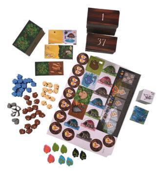 Kingdomino Origins components