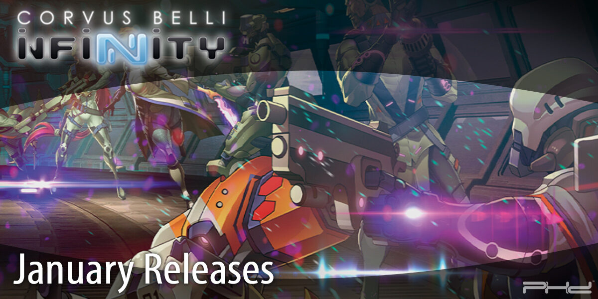 Infinity January Releases — Corvus Belli