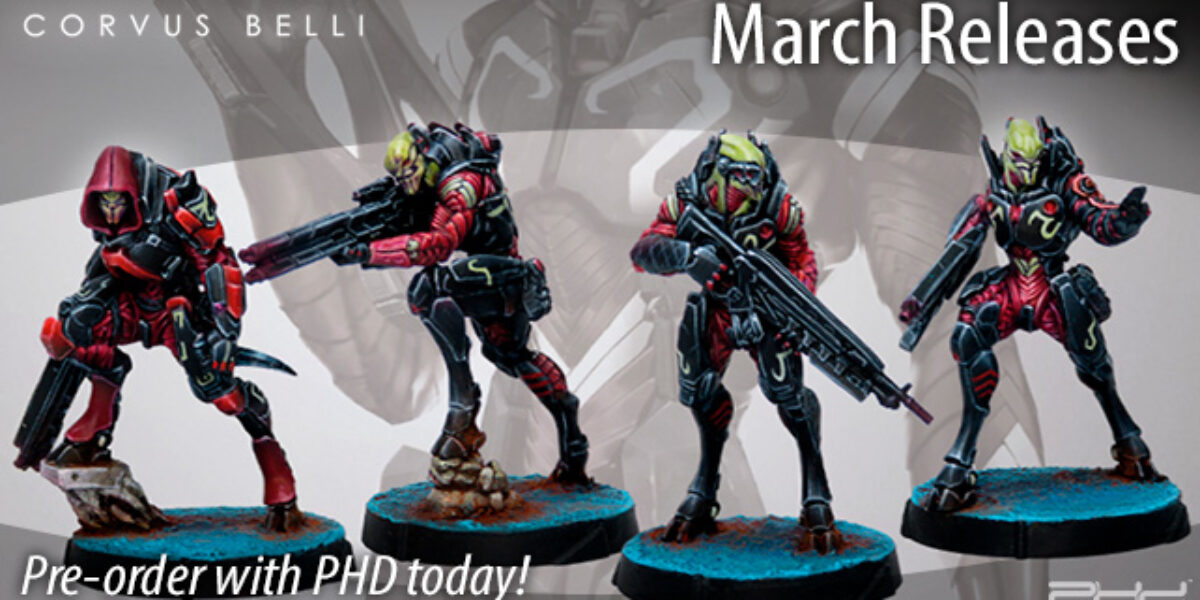 Infinity March 2020 Releases — Corvus Belli