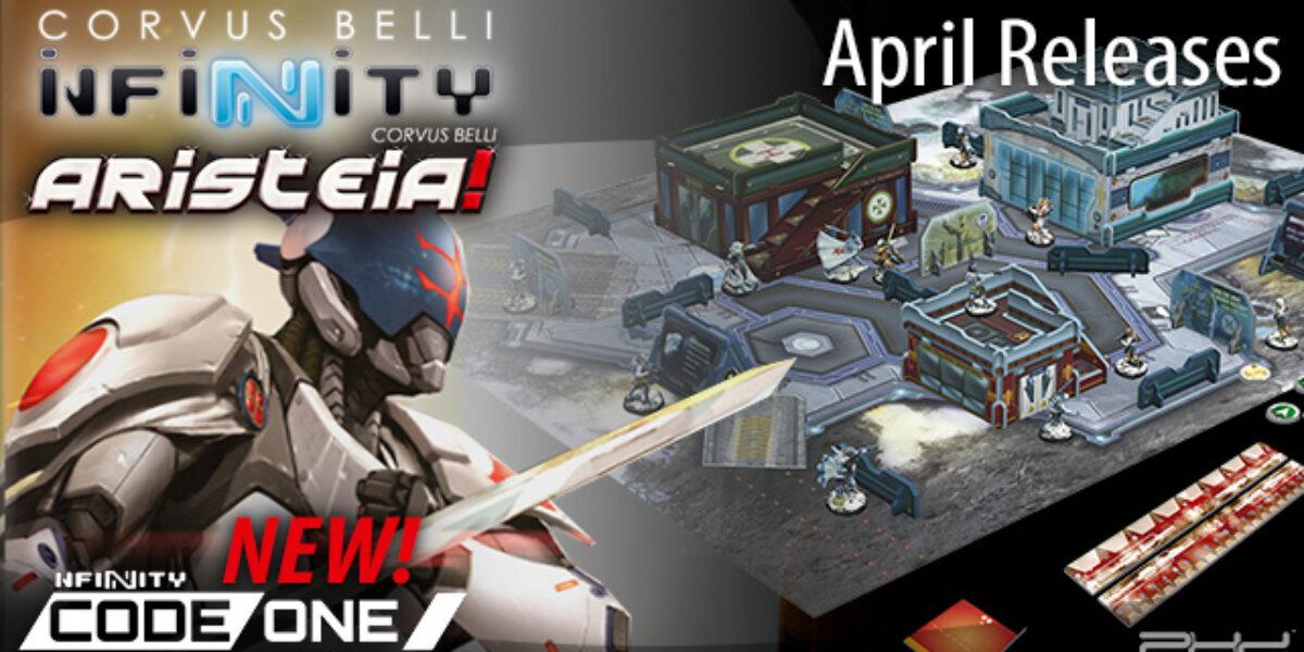 Infinity April 2020 Releases — Corvus Belli