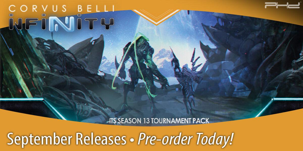 Infinity & Aristeia! September Releases — Corvus Belli