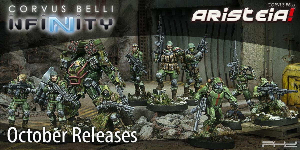 Corvus Belli October 2020 Releases