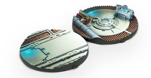 55mm Scenery Bases: Alpha Series
